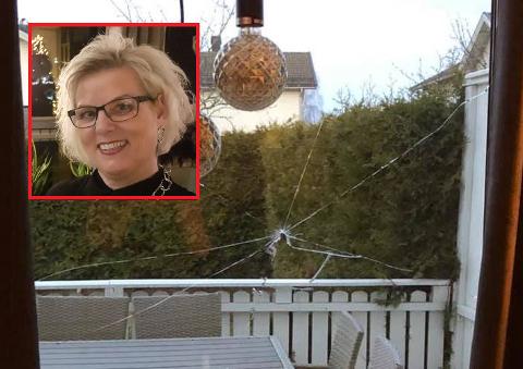OVERRASKELSE: Astri Pedersen fra Haugesund bestemte seg for å hjelpe Belinda, selv om de ikke kjenner hverandre.