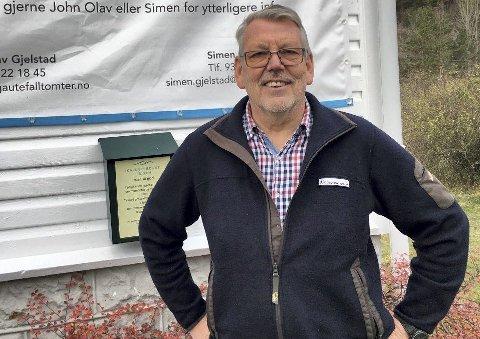 Interessert: Når Olav Gjelstad involverer seg i et hytteprosjekt, pleier avkastningen å være god. Nå har han kastet sine øyne på hytteprosjektet i Åstø.
