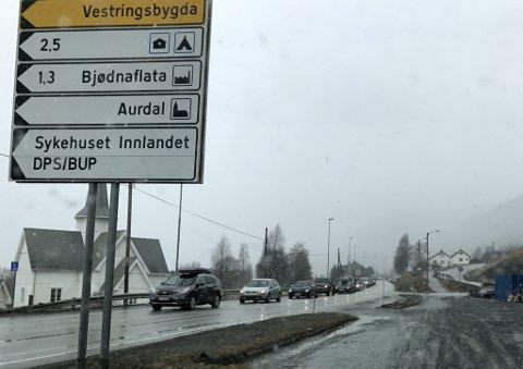 E16 i Aurdal.
