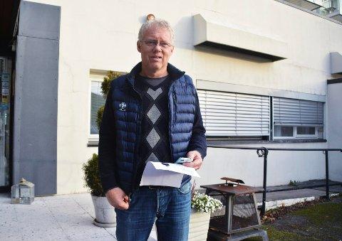 TILBAKE: Sist sommer solgte Terje Skolt hotellets førsteetasje og kjeller til Strandholmen Eiendom AS. Nå har han selv tatt over daglig leder- og styrelederansvaret i nevnte selskap, og forsøker å selge hele bygget til Skaar Omsorg AS.