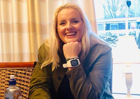 Blogger: Martine Halvorsen skal fortelle hva som skjer på sosiale medier når Nesodden menighetsråd har årsmøte.