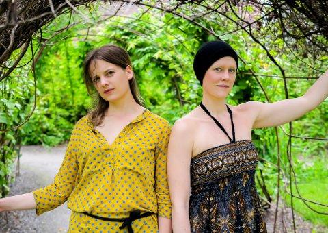 DUO: Anne Linn Vingelsgaard Scḧarer (til venstre) og Siri Snortheim gir ut plate.