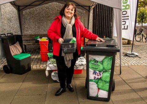 Etter planen: Implementeringen av den nye ordningen for avfallshåndtering synes å gå etter planen, sier kommunikasjonssjef i Follo Ren IKS, Pia Kathrine Løseth