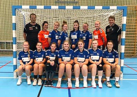 Risørs håndballkvinner i femtedivisjon åpnet sesongen med 18-målsseier over Lia/Grimstad borte.