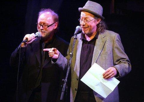Terje Nilsen og Halvdan Sivertsen i konsert på Rock Cafe i Bodø.