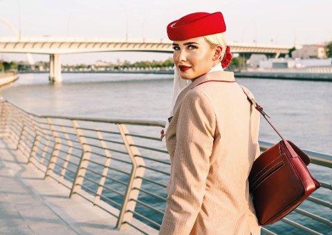 Frida Elise Høgås fra Mo mistet jobben i Emirates grunnet pandemien. Nå er hun tilbake på Mo.