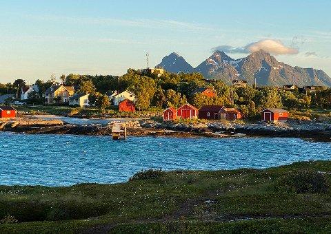 Tap: Tranøy er blant stedene i Hamarøy som har mistet mange statlige arbeidsplasser opp gjennom årene.