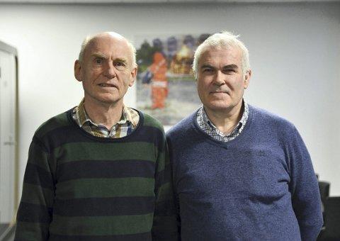 REDDE FLERE: Pastor Audun Hellemann og Bjørn Sande mener de kan bringe flere ut av rus. FOTO: RUNE JOHANSEN