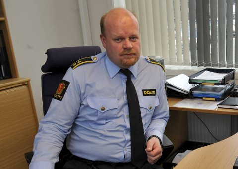 Lars Morten Lothe, stasjonssjef ved Bergen sentrum politistasjon.