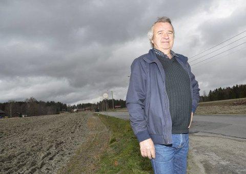 SNUOPERASJON: Gotfred Rygh forventer at Fylkesmannen støtter hans syn og ikke det klare flertallet i teknisk hovedutvalg i Modum. Arkivfoto: Knut Bråthen