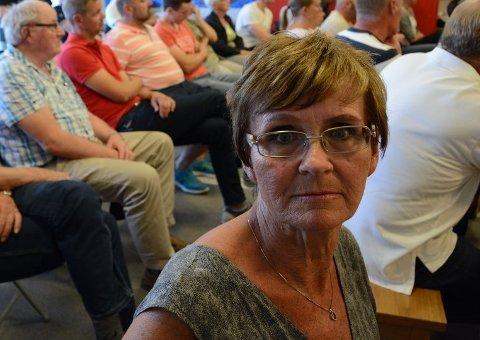 Plassen i klimautvalget henger i en tynn tråd for Trine Borge Johansen (Sp).