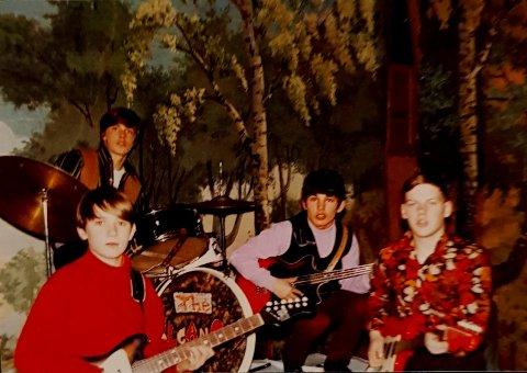 THE VOLCANOES: På slutten av 60-tallet spilte denne gjengen fra Hokksund inn en plate i Oslo. De holdt sammen i to år før de gikk hver sin vei.