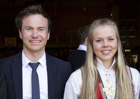 EM-KLARE: Førde-løparane Håvard Gutubø Bogetveit og Karoline Erdal er begge klare for skiskyttar-EM denne månaden.