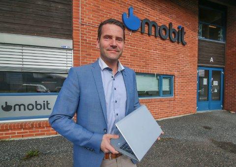 Ny satsing: Erland Pettersen skal dra Mobit inn i 2020 med et ønske om å omsette for 20 millioner kroner. Pettersen har vært med på reisen i Dikeveien 32 siden 2011.