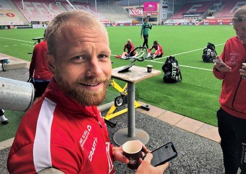 Henrik Kjelsrud Johansen starter trolig ikke mot Grorud, men FFK-spissen er i rute inn mot seriestart.