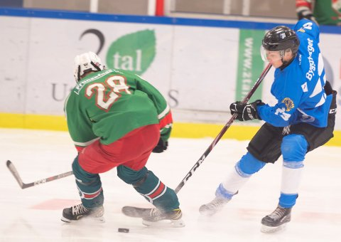 STORTAP: Narvik hockey sitt U21-lag tapte 0-5 søndag.