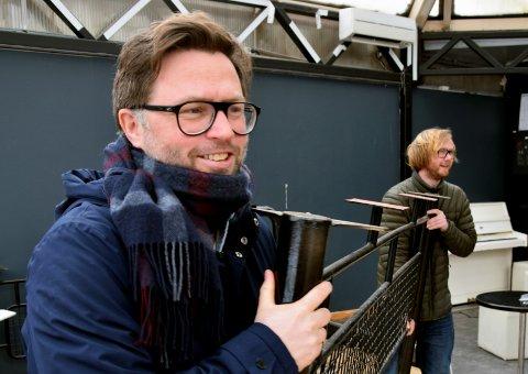 GUTTA: Henrik Lysell (foran)  - her sammen med Verven- og Lace-kollega Fredrik Fagerli Dahle - er inne i en unormal stille periode for tida.