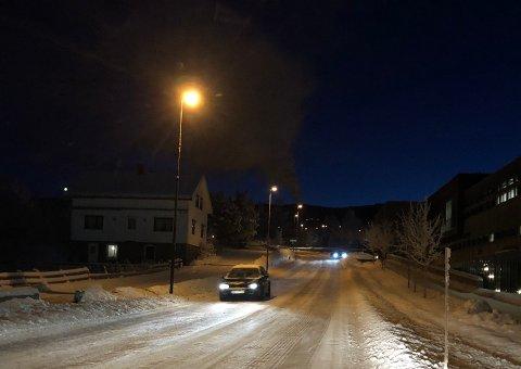IKKE ALLTID SLIK: Skolelia i Gran er subbete etter snøfall mener en innbygger som har henvendt seg til Gran kommune. Onsdag morgen var den imidlertid nyskprapet og snøfri.