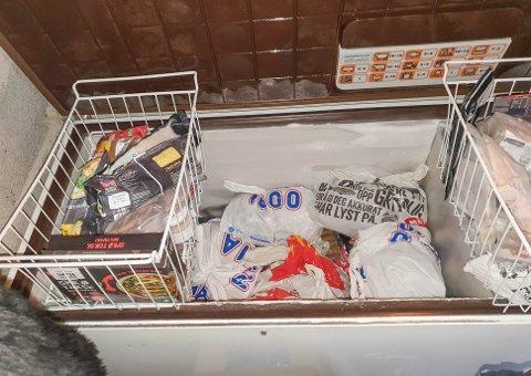 FULL: Fryseren til Stig-Are Nergård er blitt midlertidig søppeldunk.