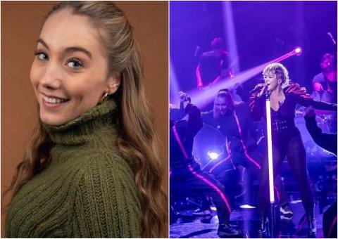 DANSER PÅ TV: Julie Aanekre fra Gran flyttet til Oslo for å følge dansedrømmen. Nå blir hun å se på Stjernekamp utover høsten.