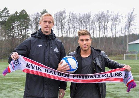 I slutten av november ble Nikola Ladan presentert som ny Kvik-spiller av sportssjef Anders Viken. Nå er kontrakten med svensken sagt opp. Arkivfoto: Mari Kristine Buckholm