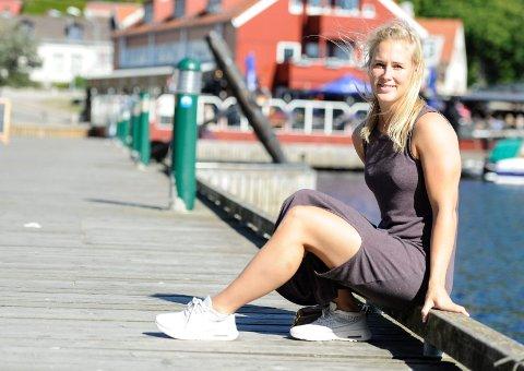 DRØMMELAG: Malene Staal har opplevd mye som håndballspiller. På sitt eget drømmelag tar hun selvsagt plass som midtspiller og playmaker.