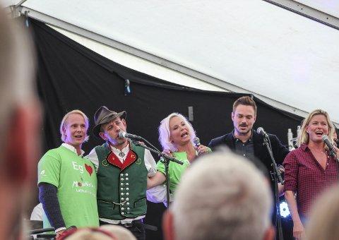 Farmen: Lothepus hadde besøk av sine venner frå Farmen kjendis under årets utgåve av Morellfestivalen.