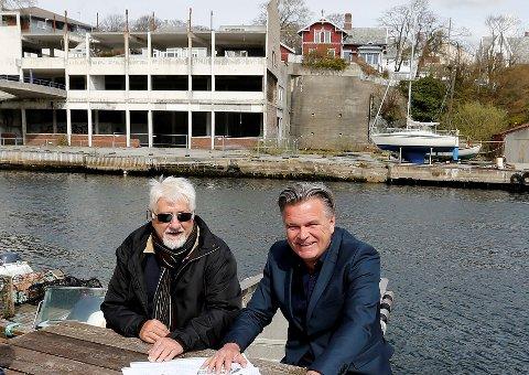 Nye sjøleiligheter i Kronå, Haugesunds vugge. Kåre Johannes Lie og Asbjørn Fjeldheim.