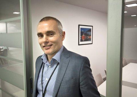 SLUTTER: Runar Skarstein slutter som regionbanksjef i  SpareBank1 SR-Bank og begynner i ny stilling i konsernet.