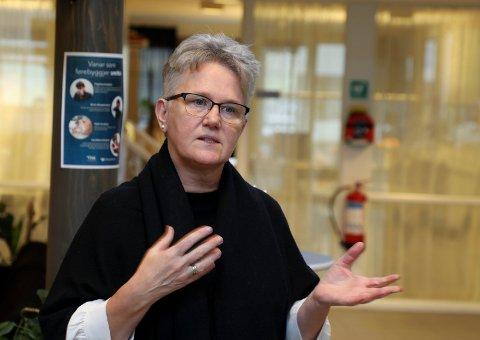 FIKK TREDJEPLASSEN: Fungerende Vindafjord-ordfører Tove Elise Madland (55) fikk 105 av 116 stemmer under nominasjonsmøtet lørdag.