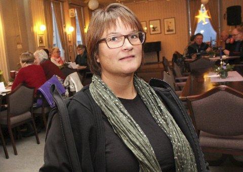 NY LEDER: Carina Kristensen er ansatt som ny leder ved Opplæringskontoret Midt Helgeland. Foto: Jon Steinar Linga