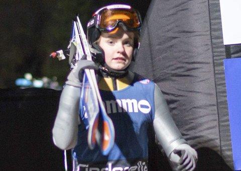 En 5. plass lørdag og en 4. plass søndag var fasiten for Eirin etter helgas norgescup på Rena. Foto: Kari Kvandal