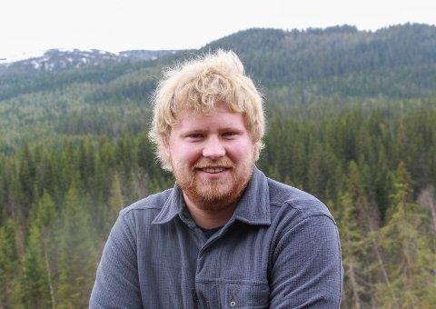 Helgelandsskogene kommer til å være Svein Yngve Heglands arbeidssted i minst tre år framover.