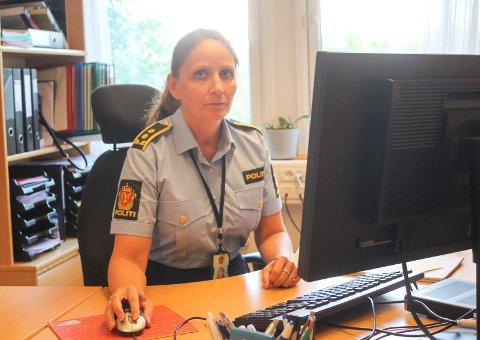 ETTERFORSKNING: Politiadvokat Monica Nøtland ved politiet i Nordland opplyser om at de har fått kontakt med den etterlyste bilsjåføren.
