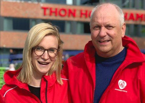 Kaia Charlotte Fagerhaug og Kurt Methi, Hammerfest Arbeiderparti