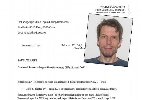 OPPSPINN: Morten Falkegård mener mye av det som står i høringsuttalelsen til TF er basert på feil fakta.