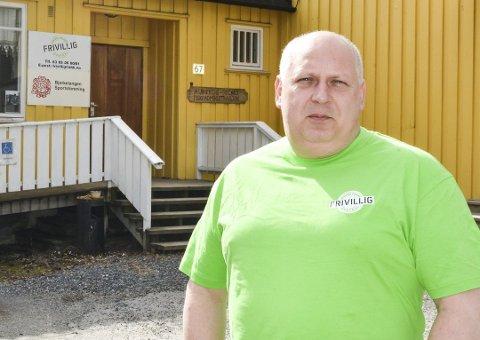 Daglig leder Ragnar Heide i Aurskog-Høland frivilligsentra.