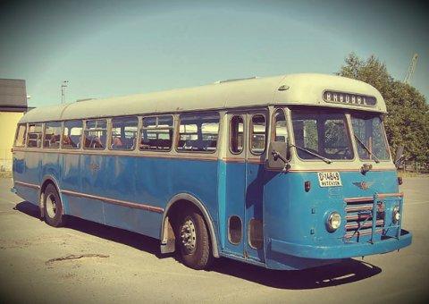 FESTIVALBUSS: Tellfortell-festivalen setter opp buss fra nord til sør. FOTO: PRIVAT