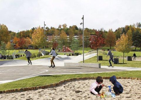 Utsettes? Anleggelse av såkalt livsløpspark på Kalstad er skutt ut i det blå. Rådmannen har ikke foreslått å avsatte penger i 2018-2021-budsjettet til dette.