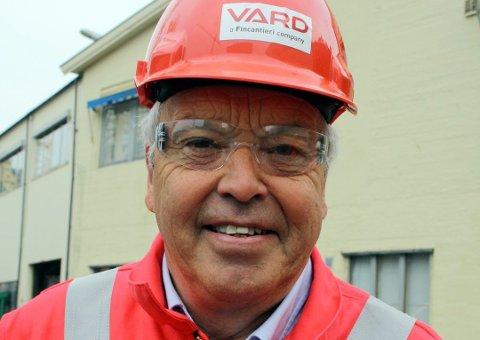 Lars Stärk fra Kragerø har hatt en ledende posisjon ved verftet i Brevik i mange år. Nå skal han bidra til å skape ny aktivitet på verftsområdet. (Arkivfoto: PD)