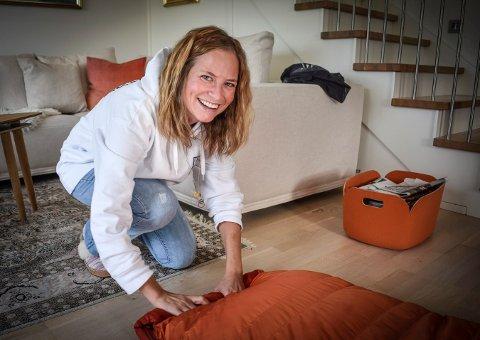 Pakker: Det blir mange døgn i sovepose i tiden som kommer for Ida Bommen.