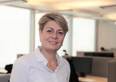 FORTSATT MANGE LEDIGE: Inger Anne Speilberg, direktør for Nav Vest-Viken, registrerer at antallet arbeidsledige fortsatt er høyt.