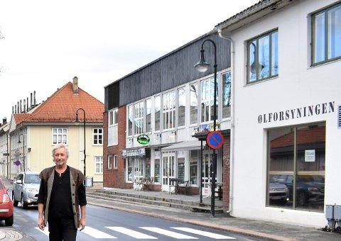 FREMDRIFT: Per Ole Bryn forteller at han planlegger opp mot 70 leiligheter i Bryggerigården.