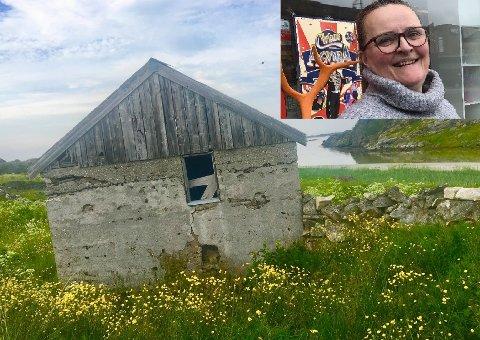 Sommerfjøs på Vestvågøy/Inger Unstad