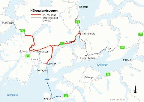 OPS-prosjektet E10 Hålogalandsveien.