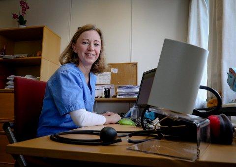 POPULÆR: Fastlege Silje Bø Andersen er blant legene i Moss med lengst ventelister.