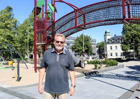 FORDELT: - Nå har vi delt ut 750.000 kroner til lag og foreninger i Rygge, som de kan lage aktiviteter for i jubileumsåret 2020, sier prosjektleder Trygve Nordby.
