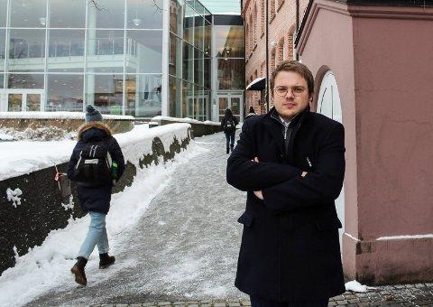 FORSLAG: Niklas Eriksen (Frp) fremmet forslaget om å innvilge søknaden til Sprint-Jeløy. Men forslaget ble nedstemt.