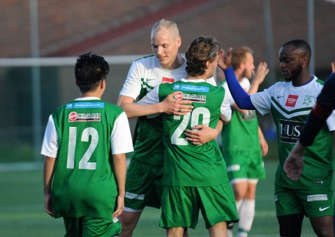 VINNERVILJE: Henning Jøndal og Manglerud Star kriget inn 3-2 seier mot Frigg 2. Foto: Solfrid Therese Nordbakk