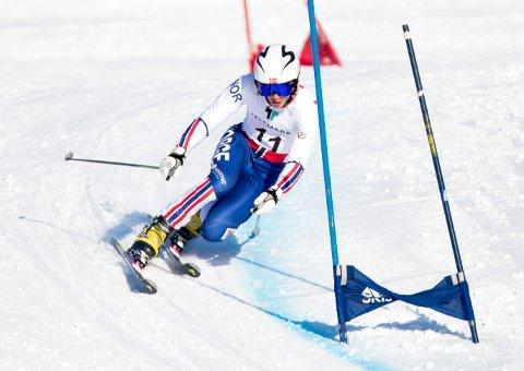 Trym Nygaard Løken som til daglig kjører for Norge og Bækkelagets Sportsklub vant i verdenscup-comebacket på Kvitfjell denne helgen. Her fra VM på Rjukan hvor han tok VM-gull i 2019.